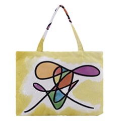 Abstract Art Colorful Medium Tote Bag by Modern2018