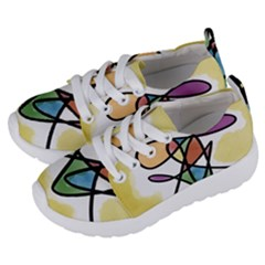 Abstract Art Colorful Kids  Lightweight Sports Shoes by Modern2018