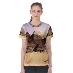 Ancient Archeology Architecture Women s Sport Mesh Tee