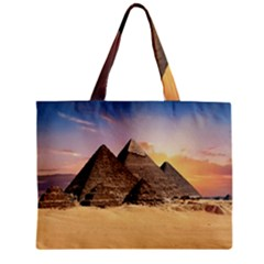 Ancient Archeology Architecture Zipper Mini Tote Bag by Modern2018