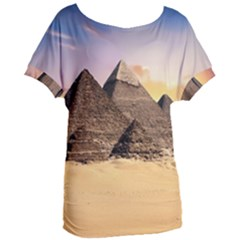 Ancient Archeology Architecture Women s Oversized Tee