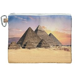 Ancient Archeology Architecture Canvas Cosmetic Bag (xxl) by Modern2018