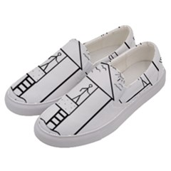 Drawing Men s Canvas Slip Ons by ValentinaDesign