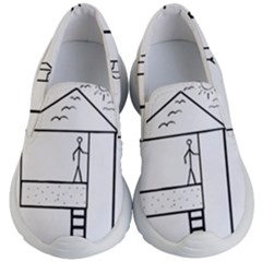 Drawing Kid s Lightweight Slip Ons by ValentinaDesign