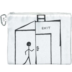 Drawing Canvas Cosmetic Bag (xxxl) by ValentinaDesign