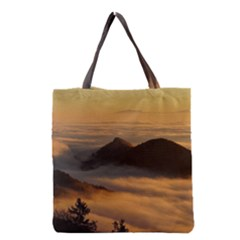 Homberg Clouds Selva Marine Grocery Tote Bag