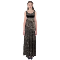 Marble Tiles Rock Stone Statues Empire Waist Maxi Dress