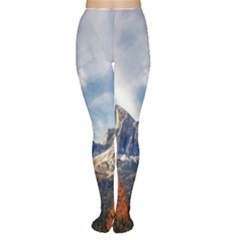 Dolomites Mountains Italy Alpine Women s Tights by Simbadda