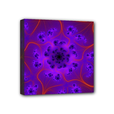Fractal Mandelbrot Mini Canvas 4  X 4  by Simbadda