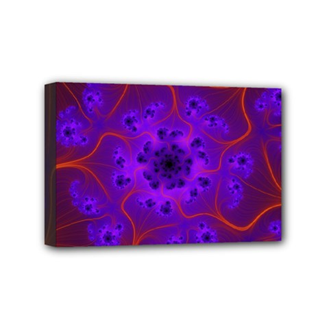 Fractal Mandelbrot Mini Canvas 6  X 4  by Simbadda