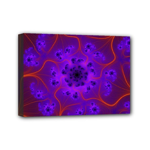 Fractal Mandelbrot Mini Canvas 7  X 5  by Simbadda
