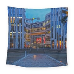 Architecture Modern Building Square Tapestry (large)