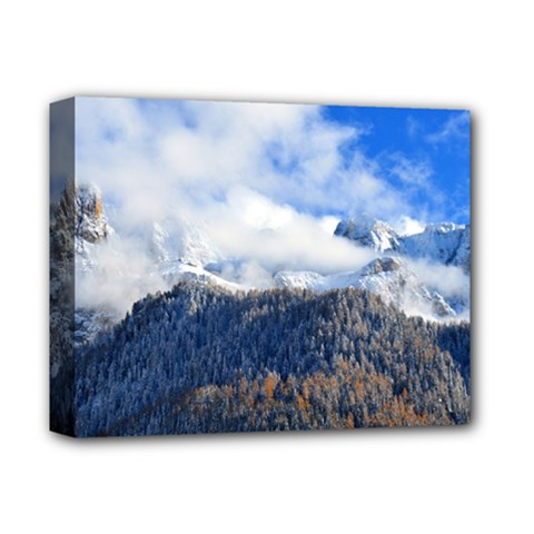 Mountains Alpine Nature Dolomites Deluxe Canvas 14  X 11