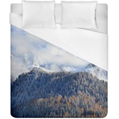 Mountains Alpine Nature Dolomites Duvet Cover (california King Size)