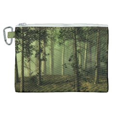 Forest Tree Landscape Canvas Cosmetic Bag (xl) by Simbadda