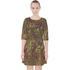 Fractal Virtual Abstract Pocket Dress