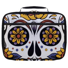 Sugar Skull Full Print Lunch Bag by StarvingArtisan