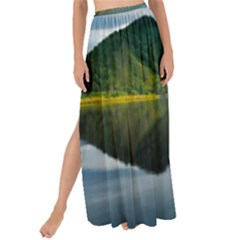 Evening Landscape Maxi Chiffon Tie Up Sarong by goodart