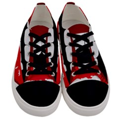 Sexy Lips Men s Low Top Canvas Sneakers