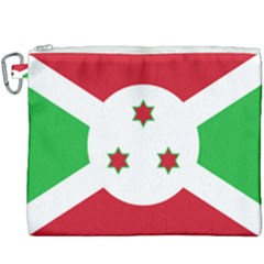 Flag Of Burundi Canvas Cosmetic Bag (xxxl) by abbeyz71