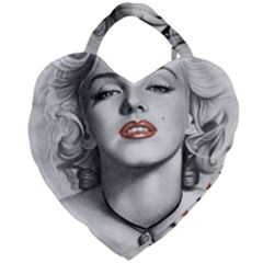 Blonde Bombshell Giant Heart Shaped Tote