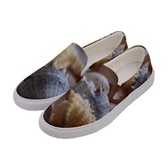 Seashells Women s Canvas Slip Ons by StarvingArtisan
