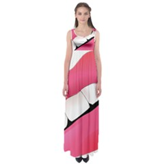 Smile Empire Waist Maxi Dress