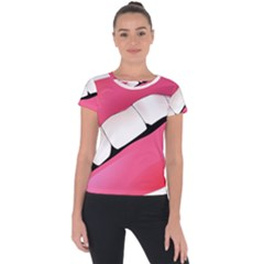 Smile Short Sleeve Sports Top