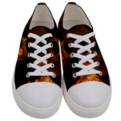 Skull Women s Low Top Canvas Sneakers