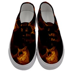 Skull Men s Classic Low Top Sneakers