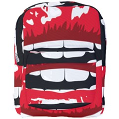 Sexy Mouth  Full Print Backpack by StarvingArtisan