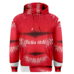 Oooooh Lips Men s Pullover Hoodie by StarvingArtisan