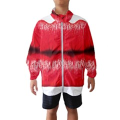 Oooooh Lips Wind Breaker (kids) by StarvingArtisan