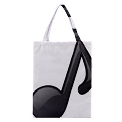 Music Note  Classic Tote Bag