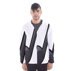 Music Note  Hooded Wind Breaker (men)