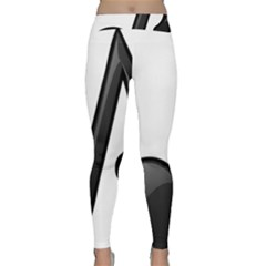 Music Note  Classic Yoga Leggings