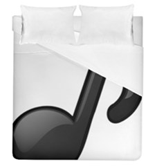 Music Note  Duvet Cover (queen Size)