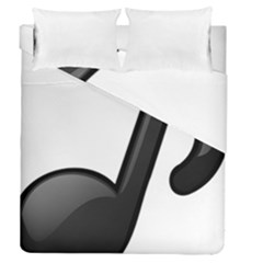 Music Note  Duvet Cover Double Side (queen Size)