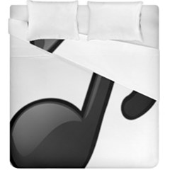 Music Note  Duvet Cover Double Side (king Size)