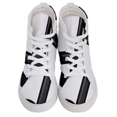 Music Note  Women s Hi Top Skate Sneakers