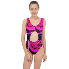 Calligraphy 2 Center Cut Out Swimsuit