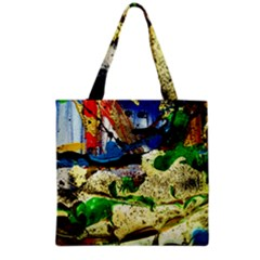 Catalina Island Not So Far 4 Grocery Tote Bag by bestdesignintheworld