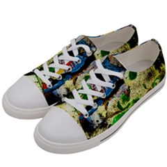 Catalina Island Not So Far 4 Women s Low Top Canvas Sneakers by bestdesignintheworld