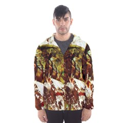 Doves Matchmaking 3 Hooded Wind Breaker (men) by bestdesignintheworld