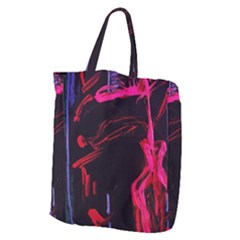 Calligraphy 4 Giant Grocery Zipper Tote by bestdesignintheworld
