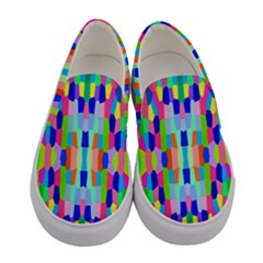 Artwork By Patrick Colorful 35 Women s Canvas Slip Ons