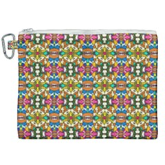 Artwork By Patrick-colorful-36 Canvas Cosmetic Bag (xxl)