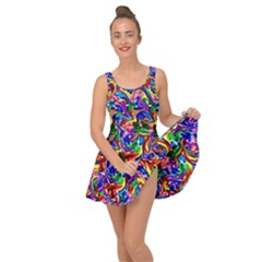 Artwork By Patrick Colorful 39 Inside Out Casual Dress