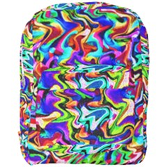 Artwork By Patrick Colorful 40 Full Print Backpack by ArtworkByPatrick