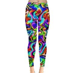 Artwork By Patrick Colorful 40 Inside Out Leggings